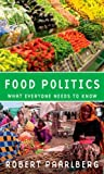 Food Politics, Robert Paarlberg, 0195389603