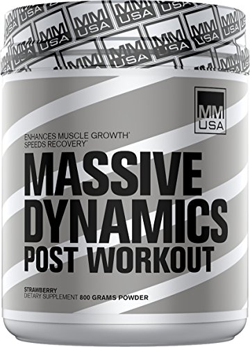 MMUSA MASSIVE DYNAMICS POST-WORKOUT, ADVANCED OVERNIGHT RECOVERY FORMULA, 800 g., Strawberry by MMUSA