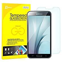 S5 Screen Protector, JETech Premium Tempered Glass Screen Protector for Samsung Galaxy S5 SV - 0830