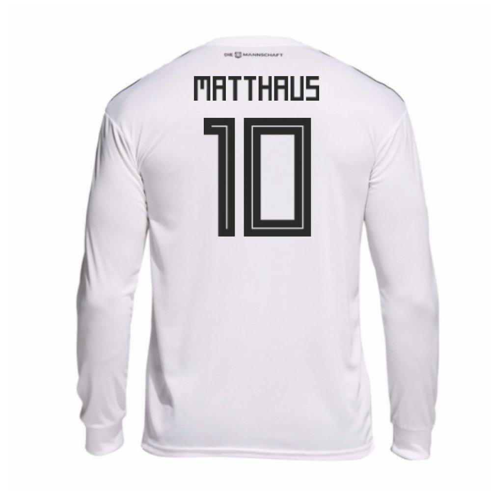 2018-19 Germany Home Long Sleeve Shirt (Matthaus 10) B077X8MW43White XXL 46-48\