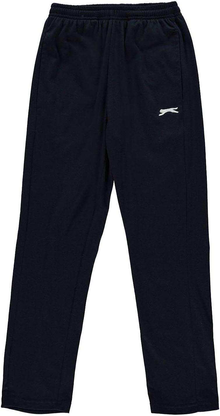 Slazenger Kids Juniors Boys Jersey Pants Trousers Bottoms Elasticated Waist
