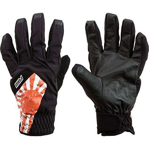 POW Men's Bandera Snowboard Ski Gloves, Japan Flag