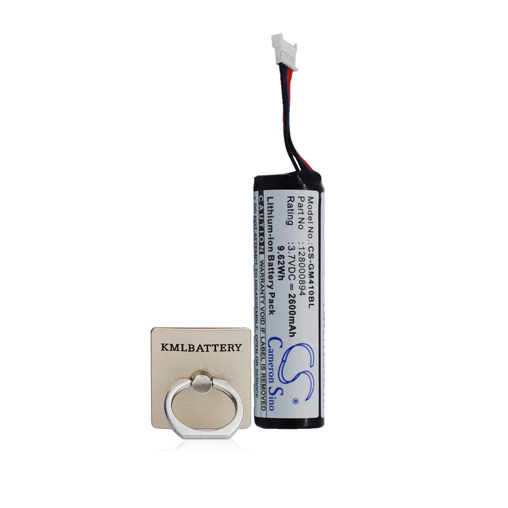 Gryphon RBP-GM40 GM4100 Datalogic GM4100 GM4130 GM4400 GM4430 GBT4400 GBT4430 GM4100-BK-433Mhz 9.62Wh for Datalogic RBP-4000 Gryphon 128000894 Replacement Battery Li-ion 3.70V 2600mAh