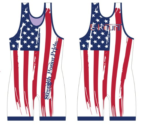 American Flag Singlet - Youth Large ()