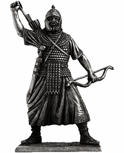 Military-historical miniatures Rome. Eastern Archer 1- 2 centuries Tin Metal 54mm Action Figures Toy Soldiers Size 1/32 Scale for Home Décor Accents Collectible Figurines ITEM #A234