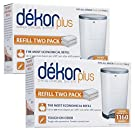 Diaper Dekor Plus Refill - 2 ct - 2 pk