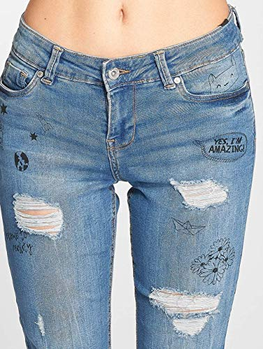 Vaqueros Azul Inlove Ajustado 482694 Mujeres Sublevel Jeans 0q5wOWF