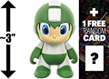 "Green Mega Man: ~3"" Mega Man x Kidrobot Review and Comparison"