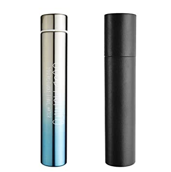 Chris-Wang Portable&Leak Proof Slim Stainless Steel Vacumn Sports Water  Bottle Flask for Healthy Drinking