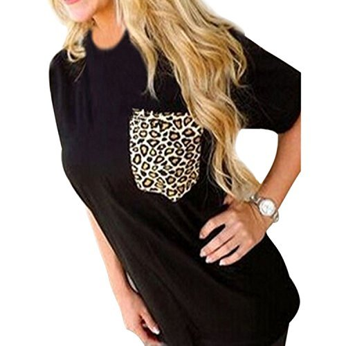 FACE Womens Sleeve Leopard Printing product image