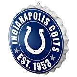 NFL Indianapolis Colts Unisex 2016 Bottle Cap Wall Sign, One Size