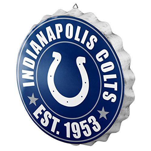 Indianapolis Colts 2016 Bottle Cap Wall Sign
