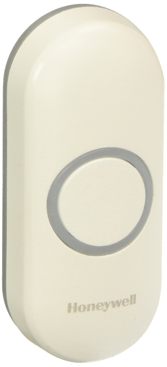 Honeywell RPWL400W2000/a Series 3, 5, 9 Wireless Doorbell Push Button with Halo Light
