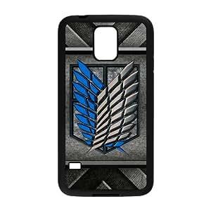 Happy Attack On Titan Fashion Comstom Plastic case cover For Samsung Galaxy S5