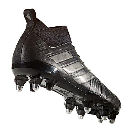adidas Kakari Force, Scarpe da Rugby Uomo Nero (Negbas/Nocmét/Negbas)