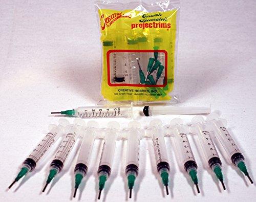Creative Hobbies® Glue Applicator Syringe for Flatback Rhin