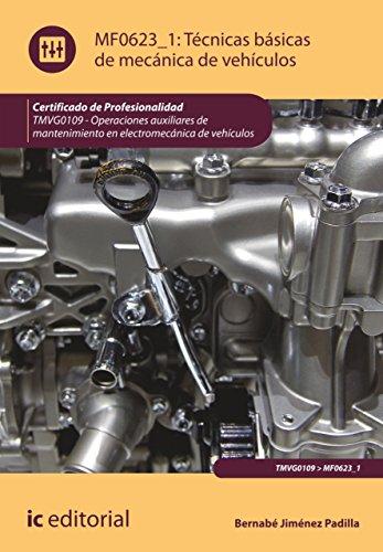 Técnicas básicas de mecánica de vehículos. TMVG0109 (Spanish Edition) by [Jiménez Padilla