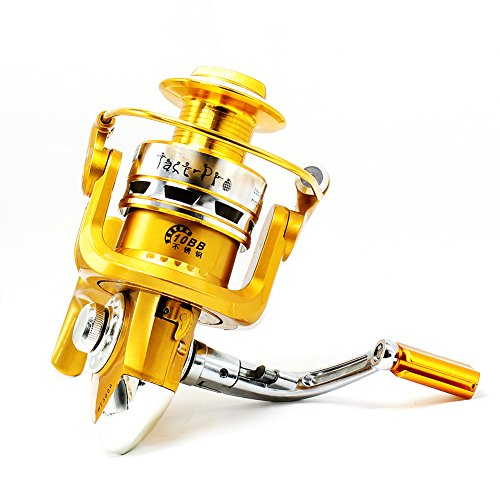 Tact pro saltwater fishing reels open face spinning reel for Open reel fishing
