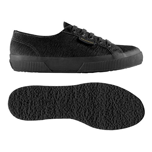 Superga 2750-leahorseu - Zapatillas de deporte Unisex adulto Total Black