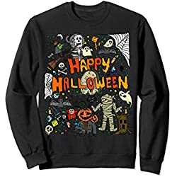 Happy Halloween Scary Retro Sweatshirt
