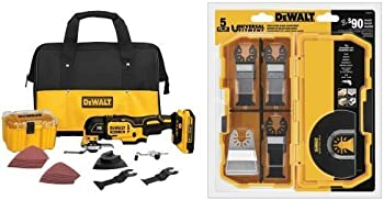 Dewalt 20V XR Multi-Tool Kit + 5-Pc. Oscillating Accessory Kit