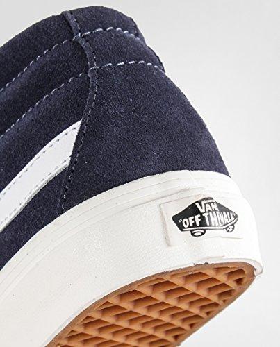 Chaussures De Mid Bleu cru Ombre Vans 7 Uk mid Sk8 Skate Agxa06