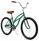 Critical Cycles Womens Beach Cruiser 1-Speed Bike