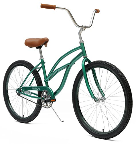 Critical Cycles Women's Beach Cruiser 1 Speed Bike