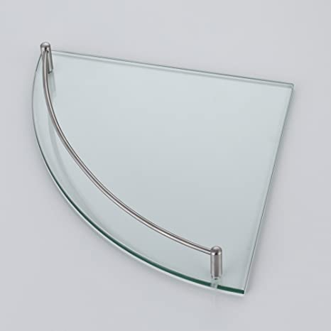 KES Bathroom Corner Glass Shelf Triangle Wall Shower Shelf Corner ...