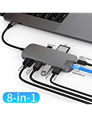 HyperDrive USB C Hub, Sanho Type-C DUO Adapter
