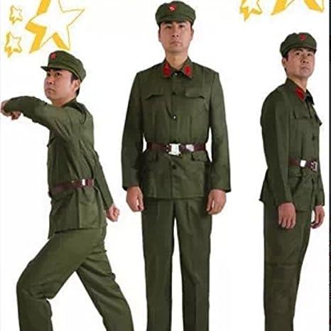 Amazon.co.jp: 旧人民解放軍服(赤襟タグ)(人民服)毛沢東 ...