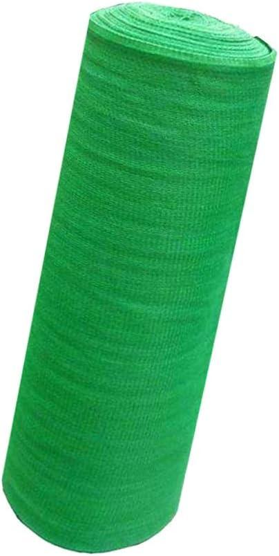 グリーン全体ロールシェードネット日焼け止めシェードメッシュ断熱メッシュサイトダストカバー土壌植物繁殖光遮断ネット (Size : 3×50m)  3×50m