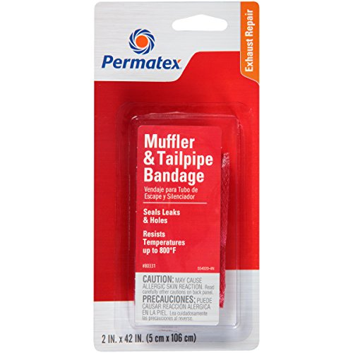 Permatex 80331 Muffler and Tailpipe Bandage, 84 sq. in.