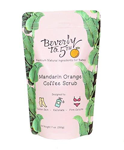 Beverly To 5th Mandarin Orange Coffee Body Scrub with Organic Coffee ()