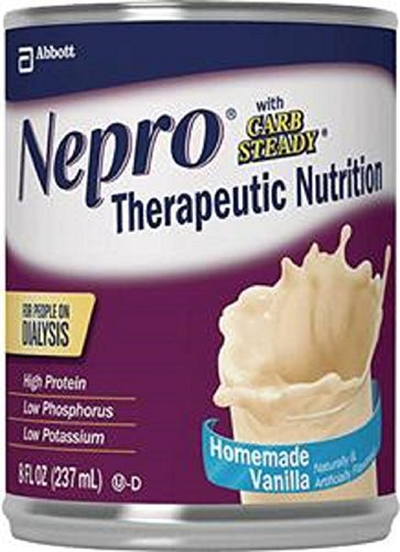 Nepro Vanilla Ready To Drink 24/8Oz Cans - 1 Case Of 24 b...