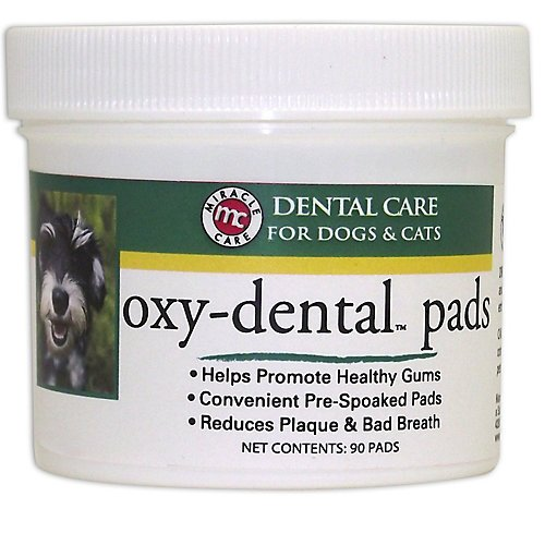 Miracle Care R-7 Oxy-Dental Pads, 90-Count