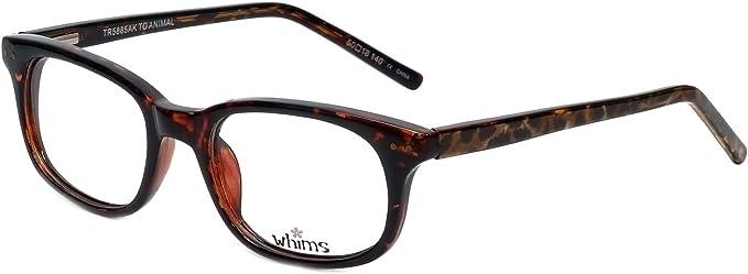 Amazon.com: Whims Designer Eyeglass Frame TR5885AK in Tortoise 50mm:  Clothing