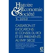 au coeur de la monarchie française : le conseil du Roi et les Parlements au XVIIIe siècle