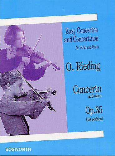 Concertino H-Moll Op 35. Violine, Klavier