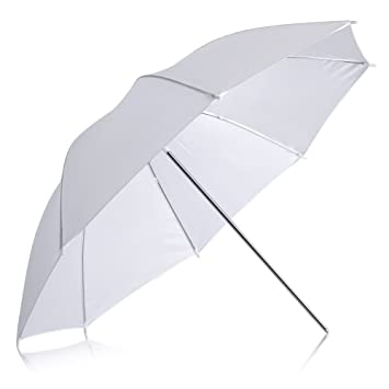 Neewer professional 33 84cm white translucent reflector umbrella for photography studio light flash