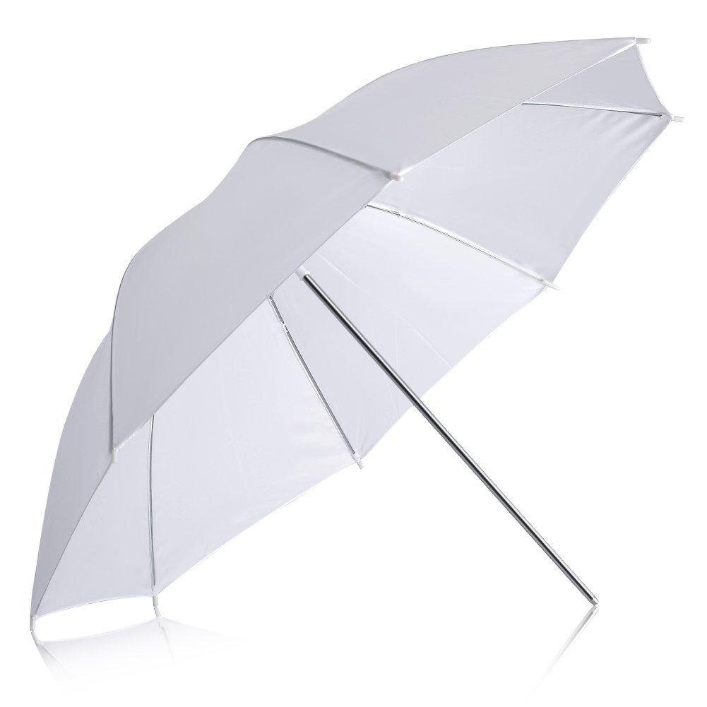 Neewer Professional 33''/84cm White Translucent Reflector Umbrella for Photography Studio Light Flash