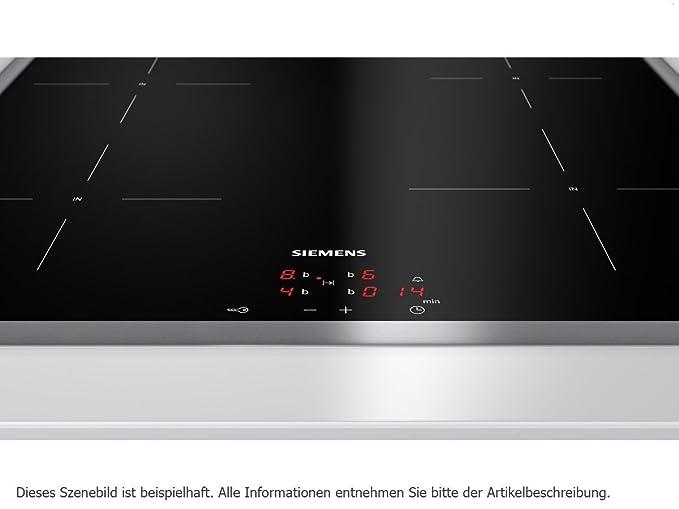 Siemens EQ771EX02T Con placa de inducción Horno eléctrico sets de ...
