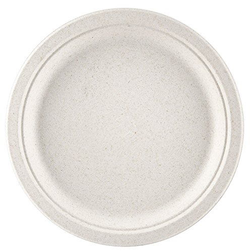 Compostable Ovation 10'' Plate 500/Case by Greenwave