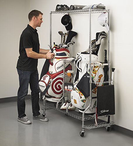 Golf Bag Rack Organizer - 2