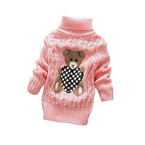 BibiCola Baby Girls Boys Sweaters Autumn Winter Wear Warm Cartoon Sweaters Outerwear