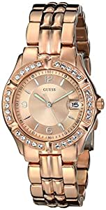 GUESS Women's U11069L1 Sporty Chic Rose Gold-Tone Mid-Size Watch