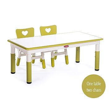 Children table and chairs Kindergarten - Juego de Escritorio y ...
