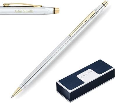 Lustrous Chrome OR 14 Karat Gold Filled Cross Classic Century Ballpoint Pen