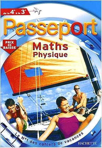 Livre Passeport Maths physique de la 4e à la 3e pdf