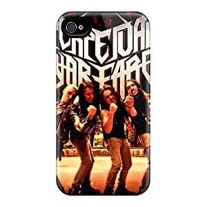 Great Cell-phone Hard Cover For Iphone 4/4s (FZi16315tIxC) Custom Nice Papa Roach Pattern